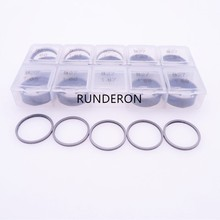 50pcs B27 Steel Washer Shim 1.60-1.69 Common Rail Injector Adjustment Gasket for Denso CRI