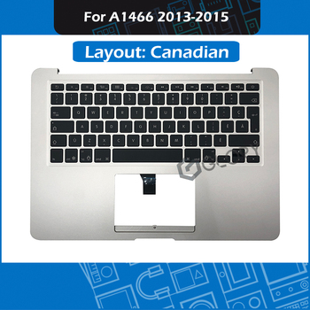 "Laptop A1466 Top Case CA Canada for Macbook Air 13"" A1466 Topcase with Canadian Keyboard Replacement 2013-2015 (2017)"