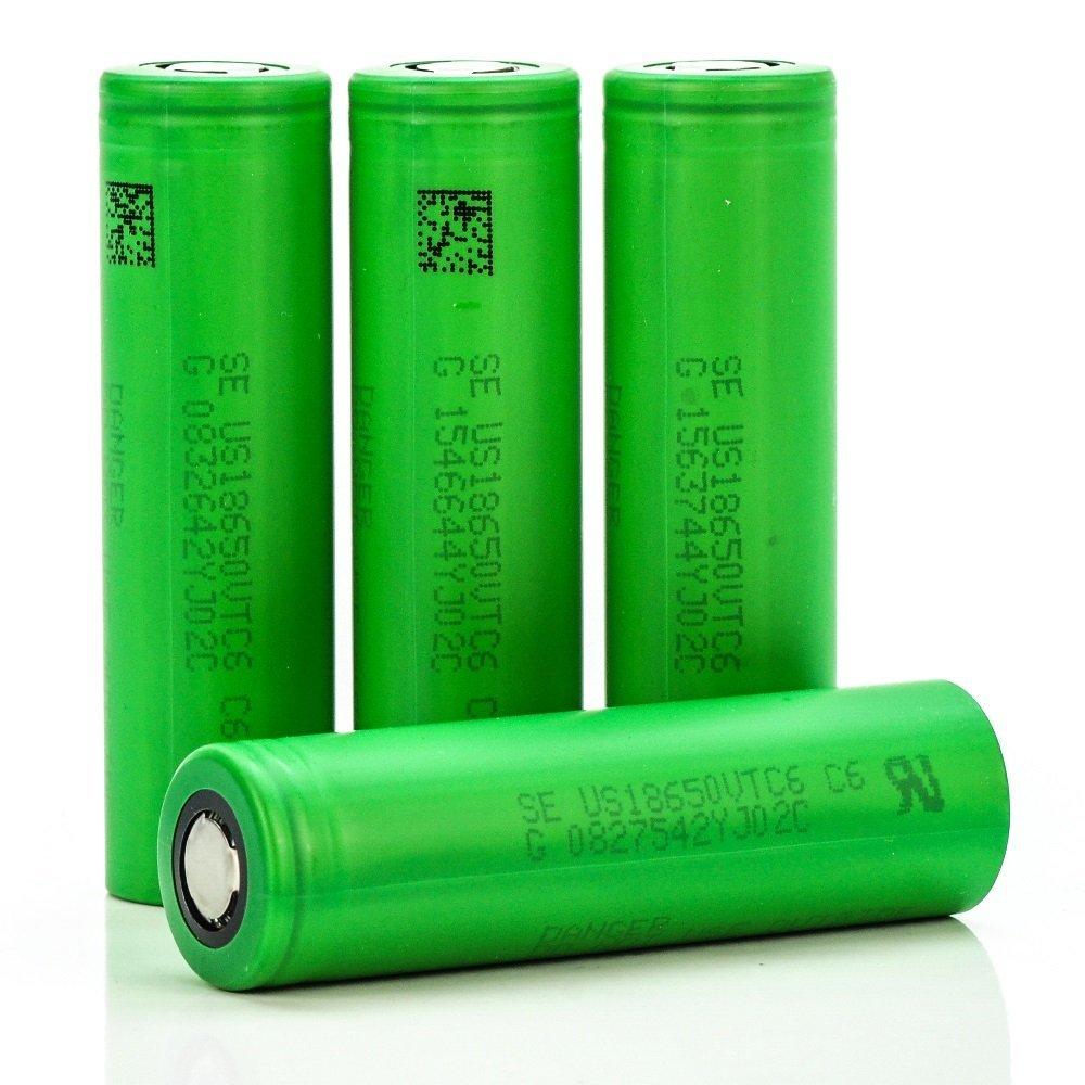 Original 3.6V US18650 VTC6 3000mAh 30A Discharge E-Cig Battery For Sony+box