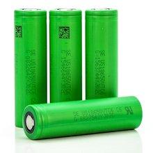 Original 3.6V US18650 VTC6 3000mAh 30A Discharge E-Cig Battery For Sony+box liitokala 3pcs lot 100% original vtc6 3 6v 18650 3000mah battery us18650 vtc6 30a e cig battery