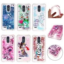 Luxury Case For LG V30 G7 V40 ThinQ Stylo 4 3 K8 2018 K30 K10 2017 Cute Dolphin Sakura Soft Silicone Back Cover Capa DP03Z