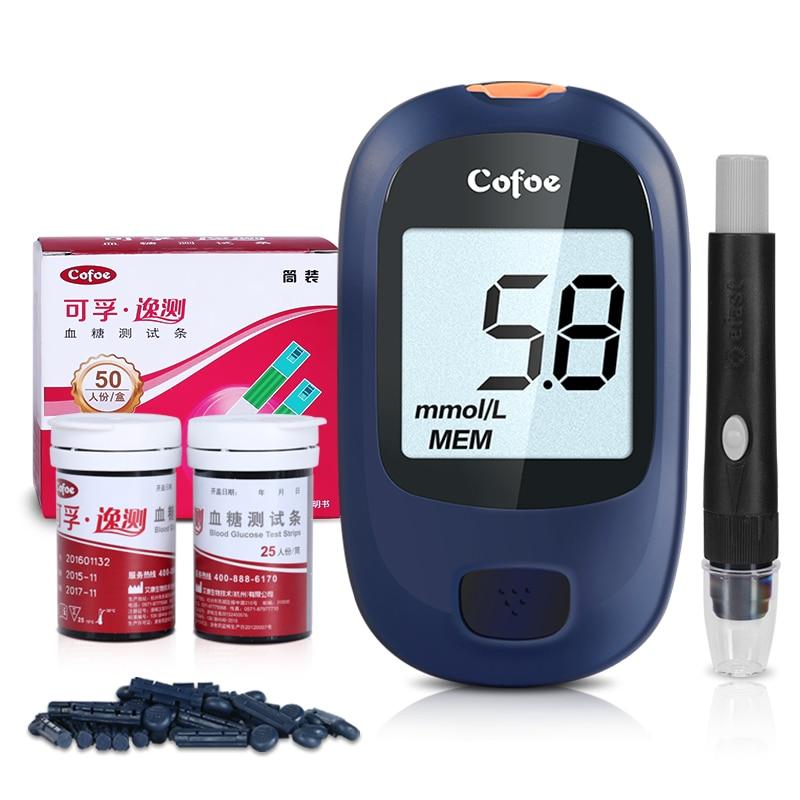 Cofoe Yice Медицински Глюкометър Кръвна - Здравеопазване - Снимка 5