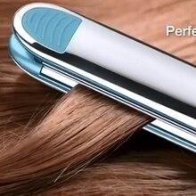Pro stainless steel titanium hair straightener