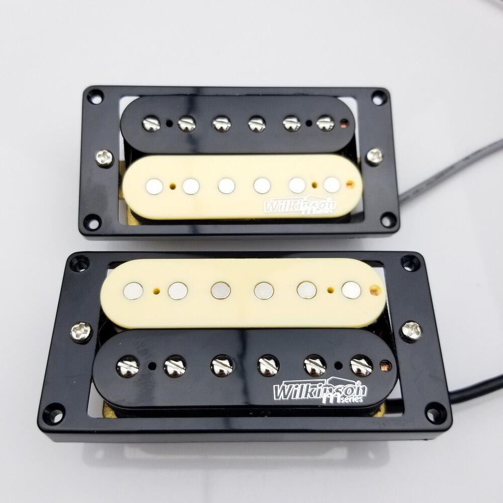 New Electric Guitar Humbucker Pickups Wilkinson Zebra Humbucker Pickups WOHZB