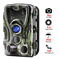 HC801A Hunting Camera Trail Cameras 16mp 1080p Ip65 Night Version Photo Trap 0.3s Trigger Waterproof Wildlife Wireless HC 801A
