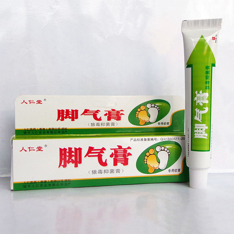 25g Foot Cream Feet Care For Athlete's Foot Feet Itch Blisters  Peeling Bad Feet Ointment