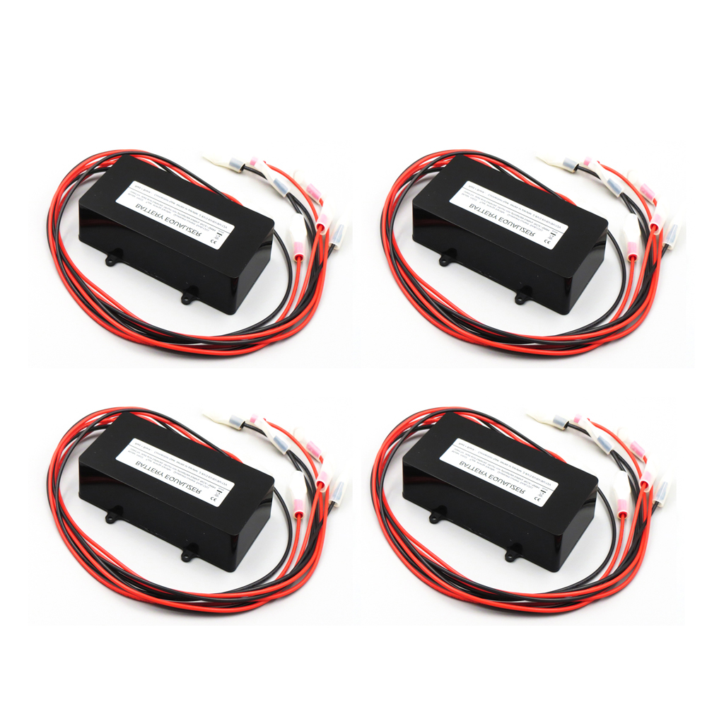 4PCS X Battery equalizer HA02 4 X 12V used for lead acid batteris Balancer charger for