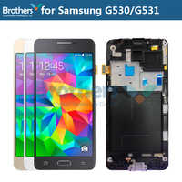 Per Samsung Galaxy Grand Prime G531 G531F SM-G531F G531H Display LCD Con Touch Screen Digitizer Telaio di Montaggio G531 G530 LCD