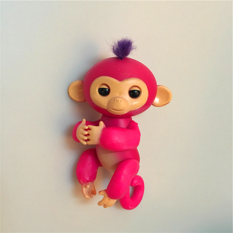 finger monkey half-intelligent electronic pets toys finger baby monkey Attention no full function without box ...