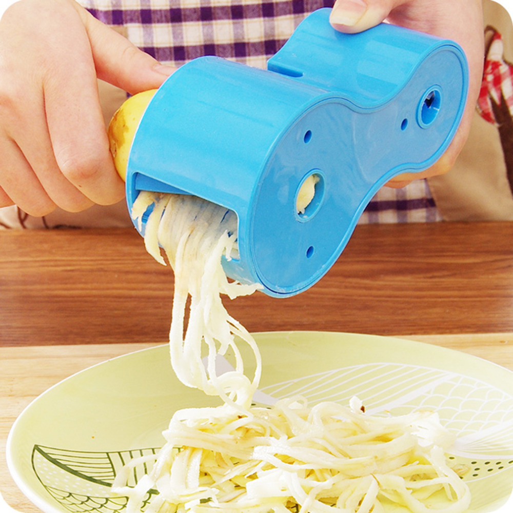 Superior qualityDual Spiral Vegetable Cutter Zucchini Noodle Pasta ...
