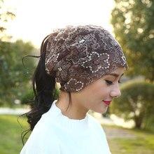 MIAOXI New Women Fashion Hat Autumn Casual Female Caps Beanie Knit Winter Hats Girls Cap Lace Skullies Gorro Bonnet
