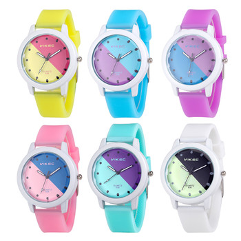Fashion Candy Color Watch Women Analog Quartz Clock Silica Jelly Gel Band Ladies Girls Casual Sport Wrist Watches Gifts relogio  analog watch