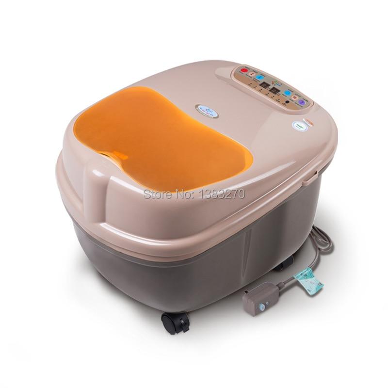 Heated massage foot bath Beauty salon detox foot spa machine electric foot washer health care