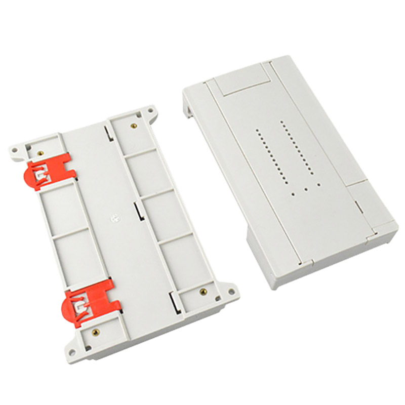 1 Piece Diy Electronic Shell Case Abs Control Enclosure Plastic Housing Project Enclosure Din Rail Box|Battery Accessories| |  - title=