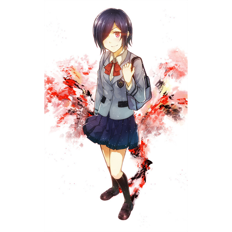 Us 35 99 Lcsp Tokyo Ghoul Heroine Kirishima Touka Cosplay Costume Japanese Anime Girl School Uniform Suit Outfit Clothes In Anime Costumes From