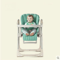 portable folding chair can sit can lie for dinner baby feed chair