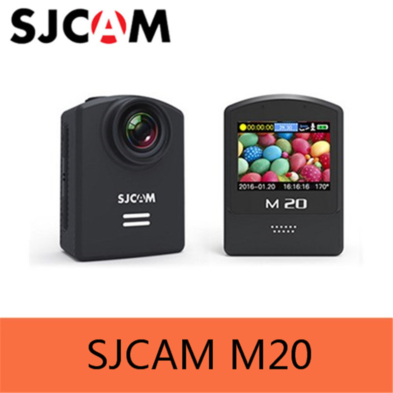 Original SJCAM M20 Gyro Mini Action Helmet Sports DV Camera Waterproof 4K 24fps 2K 30fps NTK96660