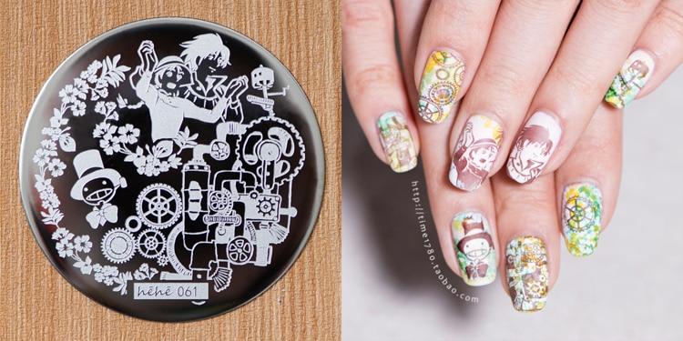 Diy prego carimbar placas menino padrão arte do prego carimbo imagem modelo manicure estênceis decoração do prego placas carimbar unhas 1 pcs