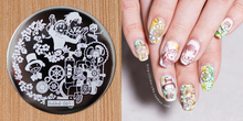 DIY Nail Stamping Plates Boy Pattern Nail Art Stamp Image Template Manicure Stencils Nail Decoration Placas Stamping Nails 1 PCS недорого