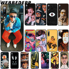 WEBBEDEPP Bad Bunny Hip Hop Rapper Soft TPU Case Cover for Xiaomi Mi 6 8 A2 Lite 6 9 A1 Mix 2s Max 3 F1 Case webbedepp little mix soft tpu case cover for xiaomi mi 6 8 a2 lite 6 9 a1 mix 2s max 3 f1 case