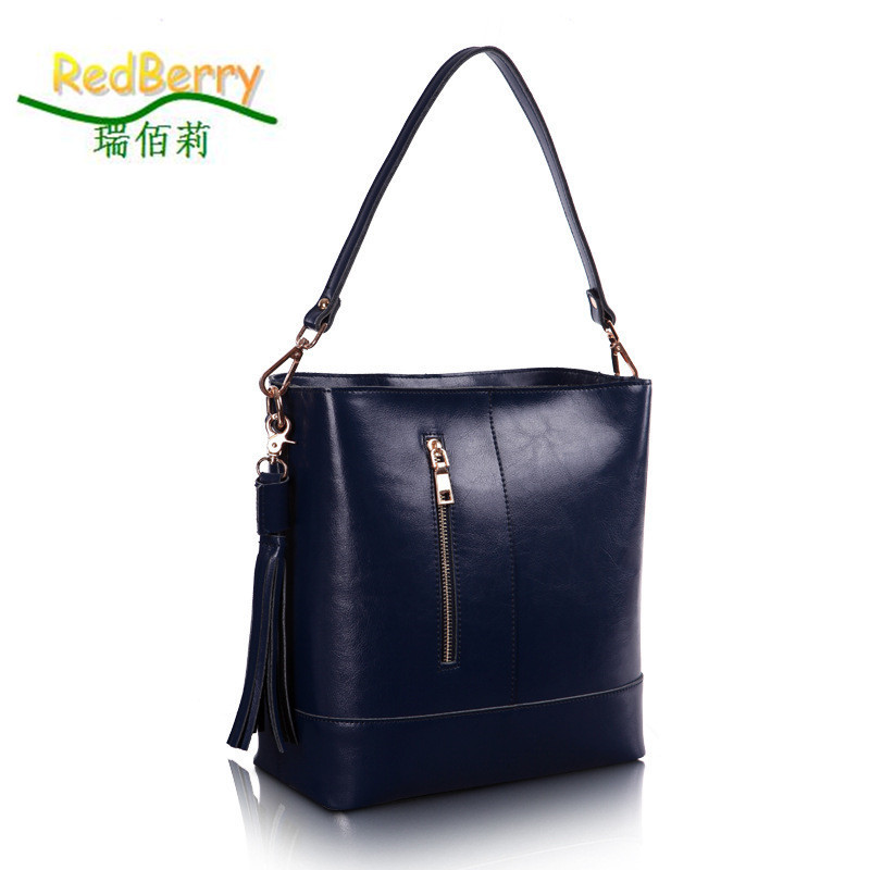 2015 Women Tassel Leather Shoulder Bag Genuine Leather Messenger Bags Fashion Bolsas Women Cross Body Bag New Style Handbag tote 2015 fashion women floral genuine leather handbag elegant shoulder bag new style messenger bags women top handle bags hot tote