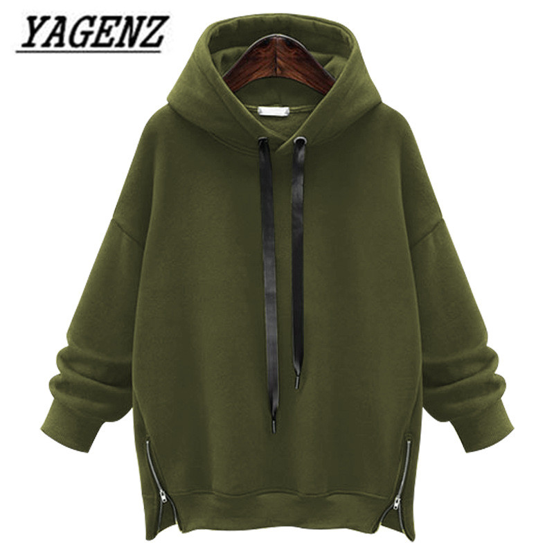 Large Size M-5XL 6XL Autumn/Winter Hooded Sweatshirt Women Clothing Loose Warm Long-sleeved Pullover Sweatshirt Casual Tops