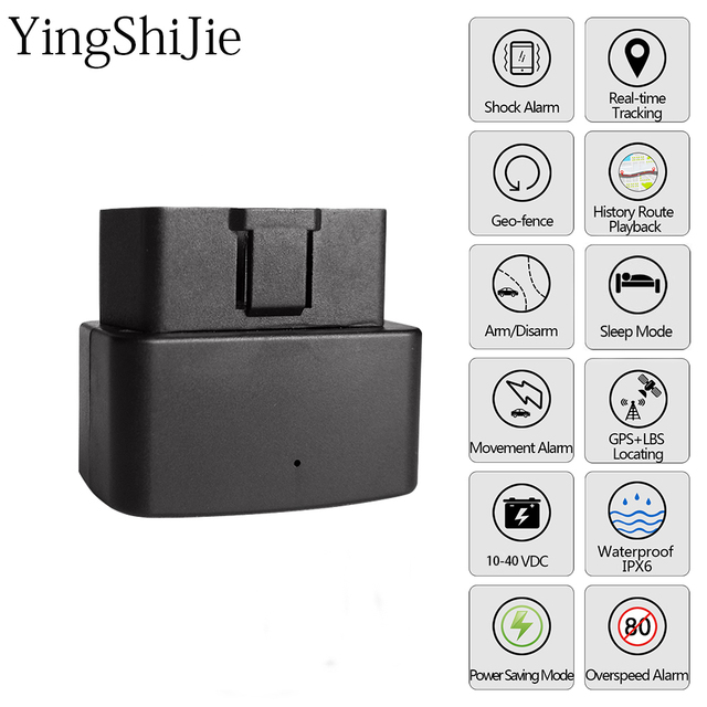 US $6 75 45% OFF Aliexpress com : Buy YingShiJie 16PIN OBD GPS Tracker Car  GSM OBDII Vehicle Tracking Device gps locator Software APP IOS Andriod WIFI
