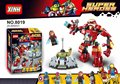 Super Heroes Avengers Building Blocks Ultron Figures Iron Man Hulk Buster Bricks Action Figures Compatible
