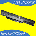 A31-K53 A32-K53 A41-K53 A42-K53 Laptop battery For Asus X84 X53 X44  P53 P43 K53 K43 A83 A54 A53 A43 Series