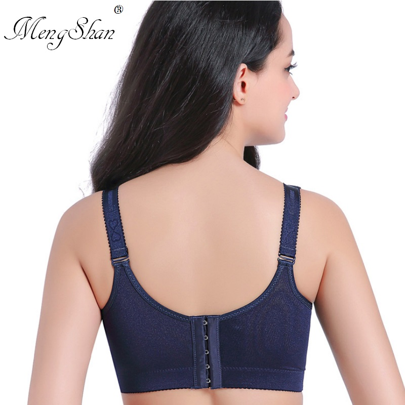 Waistcoat underwear lady Thin section large code Sexy lace adjustable closure without steel ring bra side closure Lace back in Bras from Underwear Sleepwears