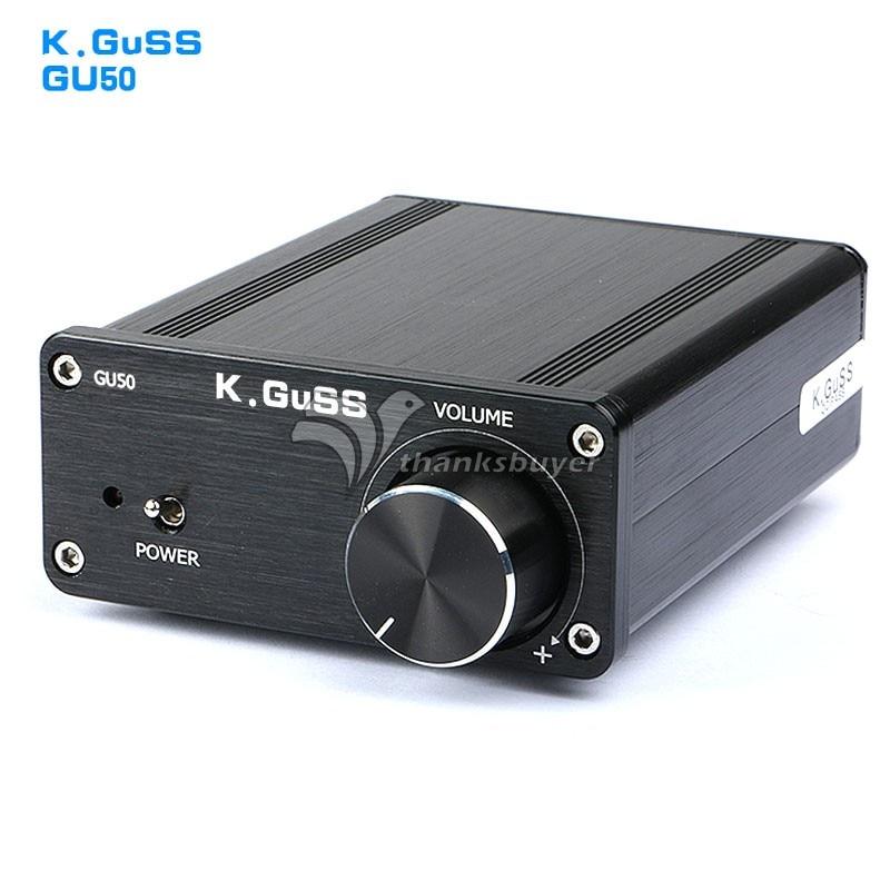 K GuSS GU50 HIFI 2 0 Class D TPA3116 Mini Audio Power Amplifier 2x50W DC12V to
