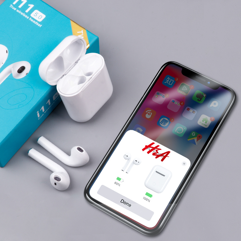 H&a Mini Wireless Bluetooth Earphone Stereo Earbud Headset For Iphone For Samsung Smart Phone Headset Air Pods With Charging Box Good Taste