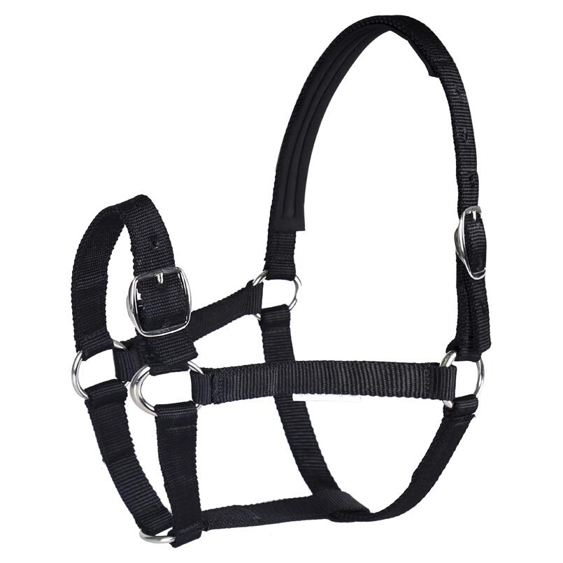 Horse Leading Halter Adjustable Horse Harness Equestrian Knight Equipment Black Red Blue Horse Cock Adult And Young Horse