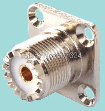 SMA RF Connectors 50 Ohms, SMA 4 Hole Flange, Jack Receptacle