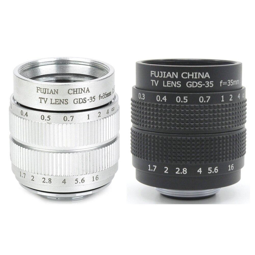 Nouvelle bague de montage d'objectif CCTV 35mm f1.7 pour Canon EOS M M2 M3 M5 M6 M10