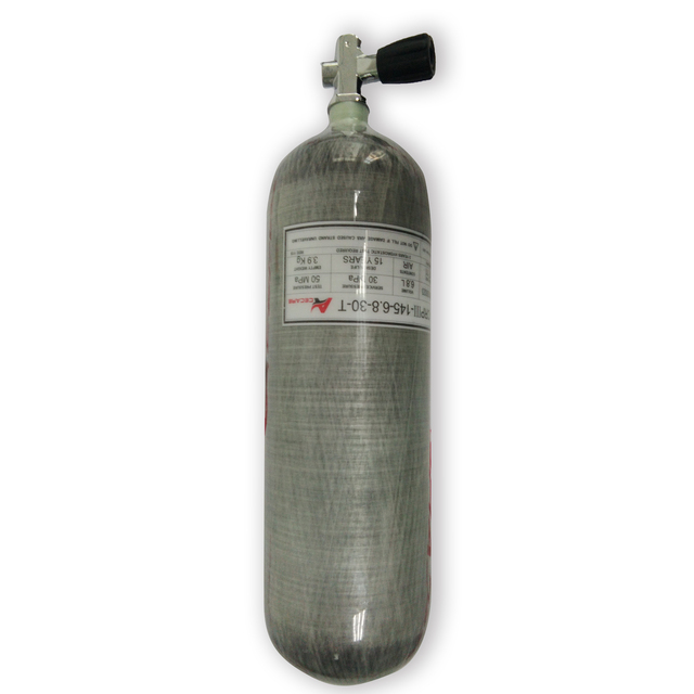 AC16851 6.8L hpa breathing apparatus for diving paintball tank underwater hunting equipment airgun pcp gun pressure condor scba