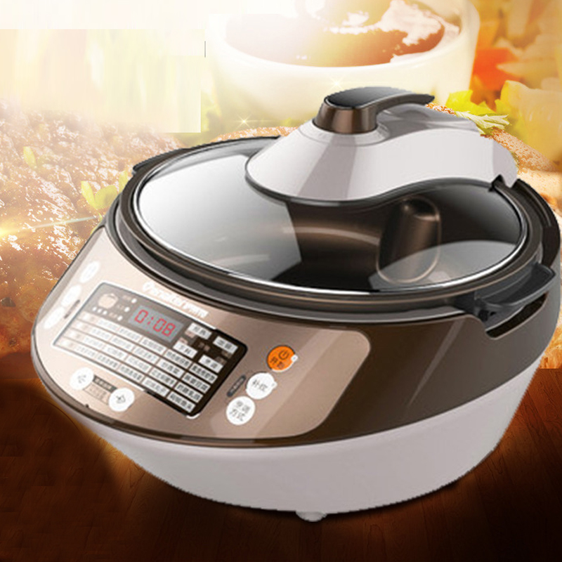 4.5L Kitchen Multicooker Rice Cooker Multi-function Stir-fry Machine Household Rice Robot Steam Cooker Cooking Machine CC20A