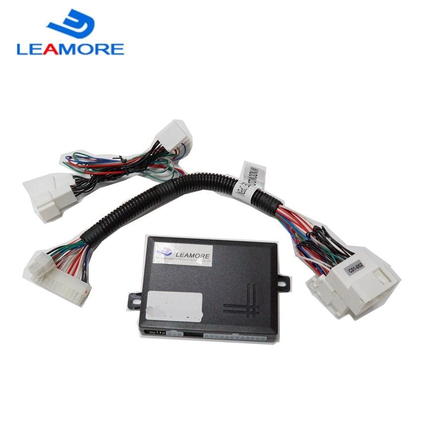 LY-LEAMORE wysokiej jakości dla RAV4 2013-2018 power okno samochodu bliżej (zamknij i otwórz) pełny moduł gniazda