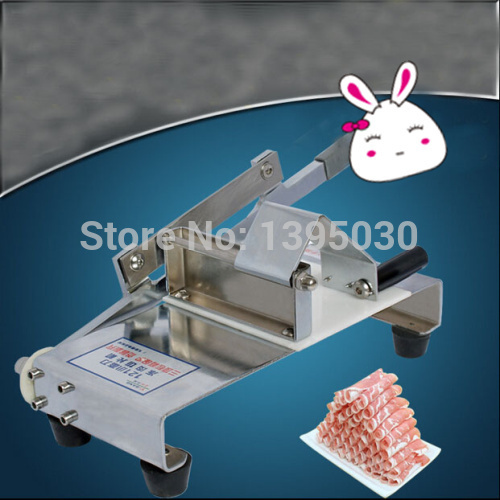 цена 1pc meat cutting machine household manual mutton roll slicing machine meat planing machine stall-fed meat slicer