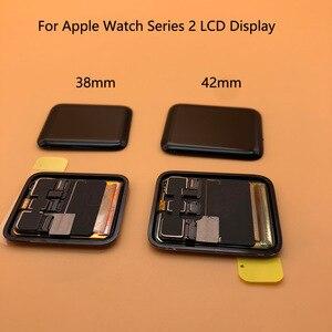 Image 2 - Pantalla LCD para Apple Watch Serie 2, prueba de 100%, Digitalizador de Pantalla táctil, Serie 6, 40mm, 44mm, negra