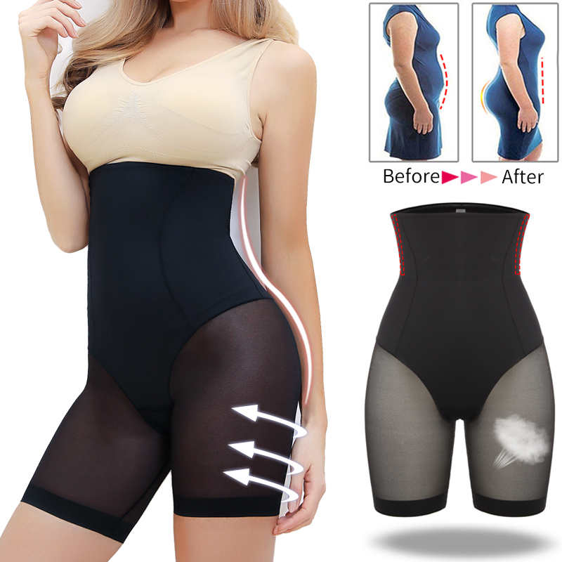 Miss Moly High Waist Tummy Slimming Control Panties Shapewear Body Shaper Thigh Slimmers Butt Lifter Shorts Underwear Shapers