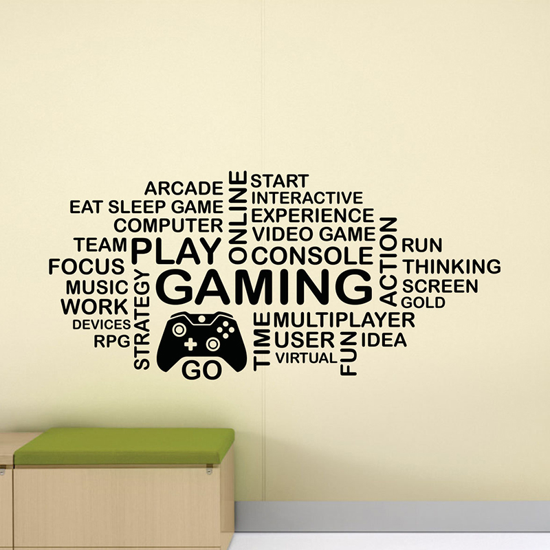 Gaming Muur sticker PS4 Xbox One Poster Vinyl Sticker Speelkamer Decor Game Muurschildering voor in je Mancave!