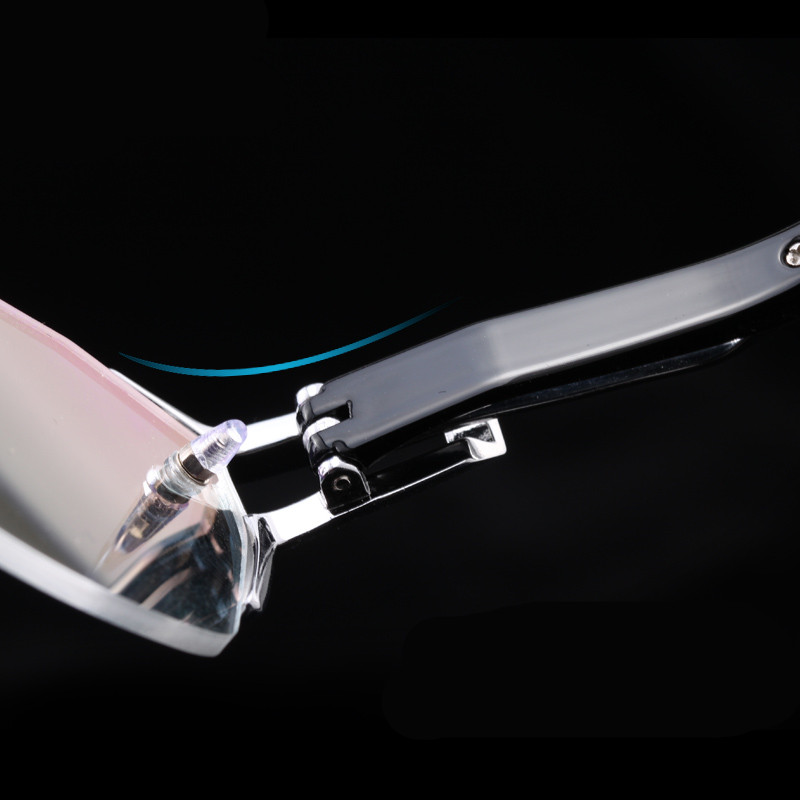 2018 100% Pure Titanium Rimless Eyeglasses Frames Men Myopia Optical Glasses Frame Prescription Eyewears oculos de grau
