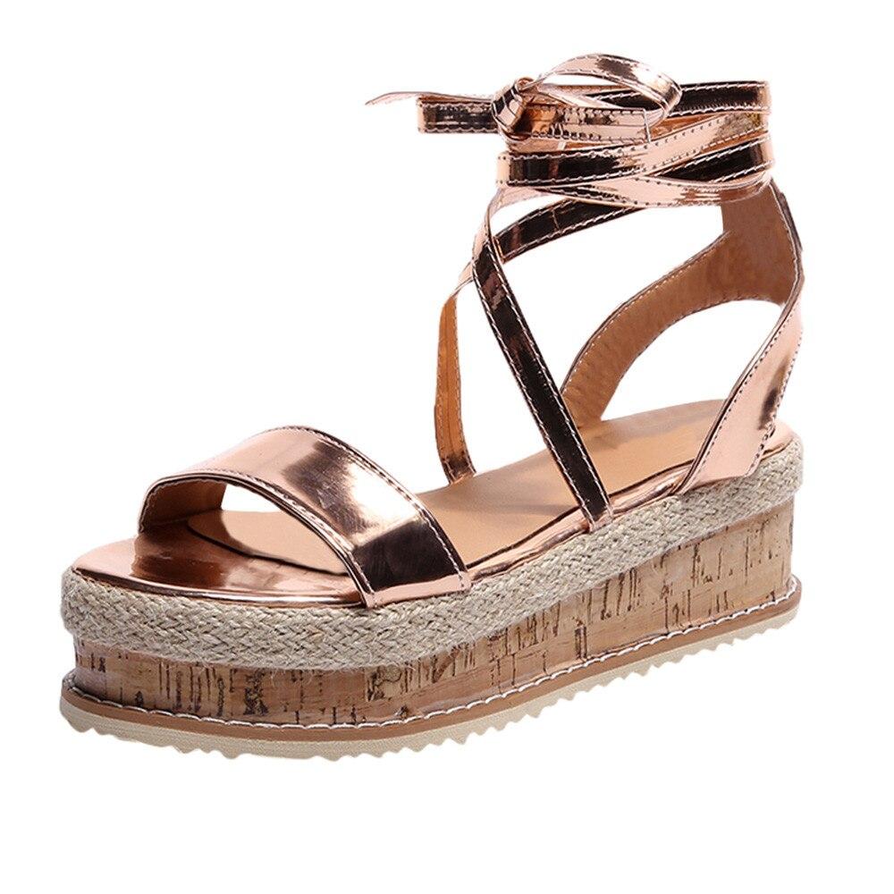 11283062e New Arrival Ladies Shoes Women Sandals Summer Open Toe Fish Head Fashion  Platform Thick-Bottom Wedge Sandals Female Shoes Women