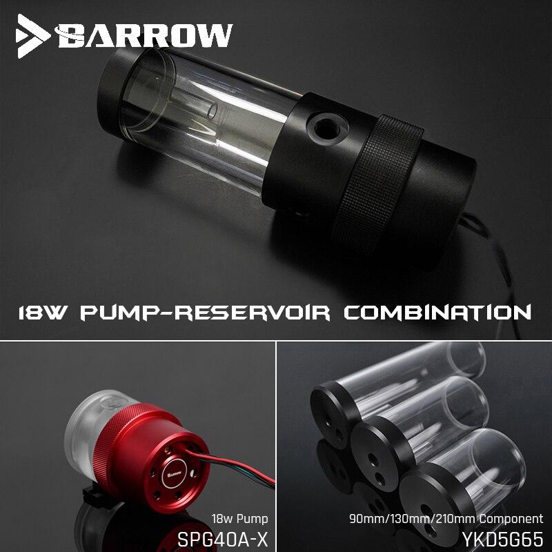 Barrow SPG40A-X, 18W PWM Combinação Bombas, Com Os Reservatórios, Bomba-Reservatório de Combinação, 90/130/210mm Reservatório Componente