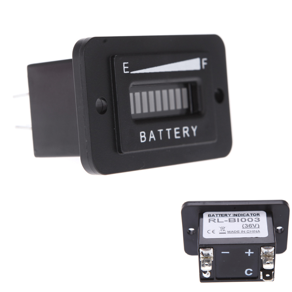 Battery Status Monitor : Dc v volt golf cart digital led battery status charge