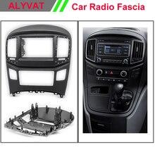 Двойной 2 DIN Автомобиль фриз для Hyundai starex, h1 Радио GPS стерео Панель черточки комплект Уход за кожей лица пластине Аудио Рамки отделка рамка переходная