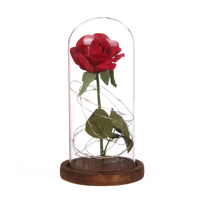 Christmas Gift For Wife 2019.Us 26 3 2019 New Year Christmas Gift Thanksgiving Gift Artificial Flowers Led Rose For Birthday Gift Girlfriend Wife Mother In Artificial Dried