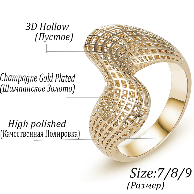 Irregular 3D Geometry Ring4