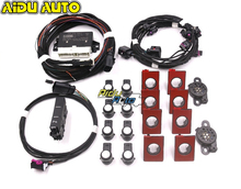 USE FOR VW Golf 7.5 MK7.5 Front and Rear 8K OPS Parking Pilot 5QA 919 294 C UPGRADE KIT 5QA919294C for volkswagen vw golf 7 mk7 vii front and rear 8k ops parking pilot 5qd 919 294 e lhd upgrade kit 5q0919294e